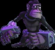 Monkey Rockwell Without Helmet Profile