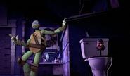 Donatello Showing New Vehicle