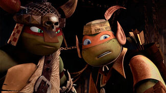 Mikey The Elf And Raph The Dwarf Barbarian 2