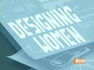 Designing Women Title Card