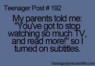Teenager Post 192