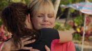 Antoinette hugging her niece