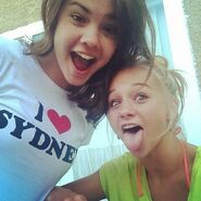 Maia with Mollee