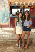 Alyssa and Mack Teen Beach 2 Promotional Picture