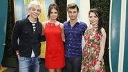 Ross, Maia, Grace, and Garret