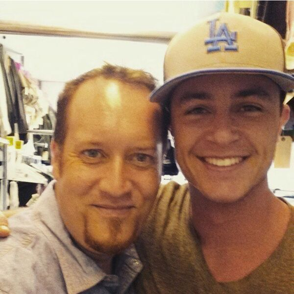 Teen Wolf Season 5 Behind the Scenes Ryan Kelley costume fitting with Adam West TWHQ 020615