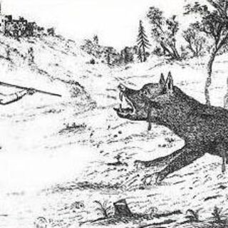 The Beast being killed by François Antoine
