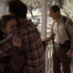 Malia Reunited with Mr. Tate, Her Adoptive Father