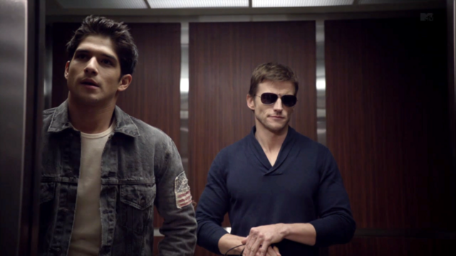 File:Teen Wolf Season 3 Episode 1 Tattoo Tyler Posey Gideon Emery Scott McCall and Alpha Deucalion.png