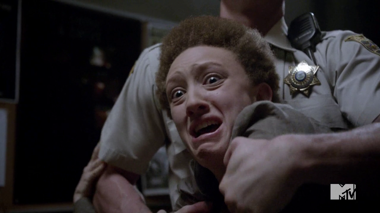 Teen Wolf Season 4 Episode 10 Monstrous Meredith screams it's not done.png