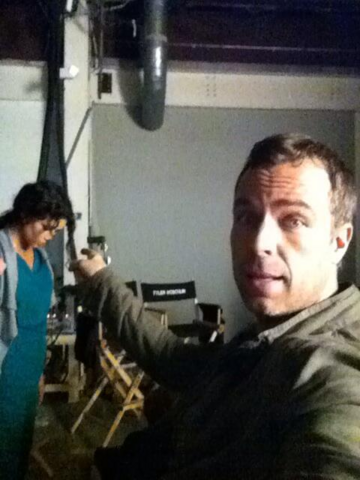 File:Teen Wolf Season 3 Behind the Scenes JR Bourne and Melissa Ponzio.png