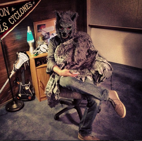 File:Teen Wolf Season 3 Behind the Scenes Matt McDonough done lost his mind.png