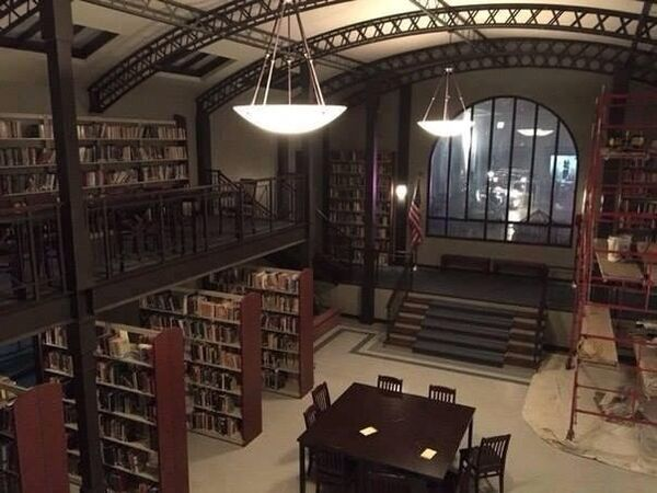 Teen Wolf Season 5 Behind the Scenes new beacon hills library set undated image