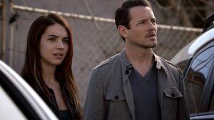 Teen Wolf Season 3 Episode 5 Frayed Adelaide Kane Ian Bohen Cora and Peter Hale