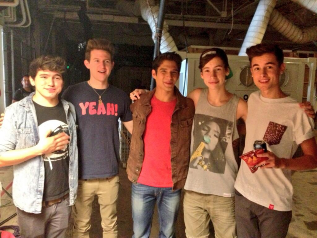 File:Teen Wolf Season 3 Behind the Scenes Tyler Posey Ricky Dillon thats0jack KianLawley jccaylen Set Visit .png