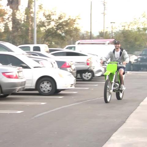 Teen Wolf Behind the Scenes Hoechlin Dirt Bike 2