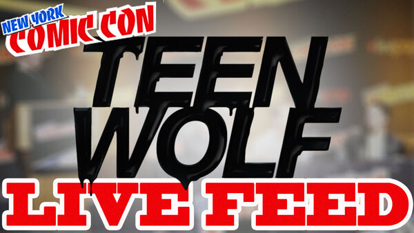 Teen Wolf Comic Con Live Feed 2015