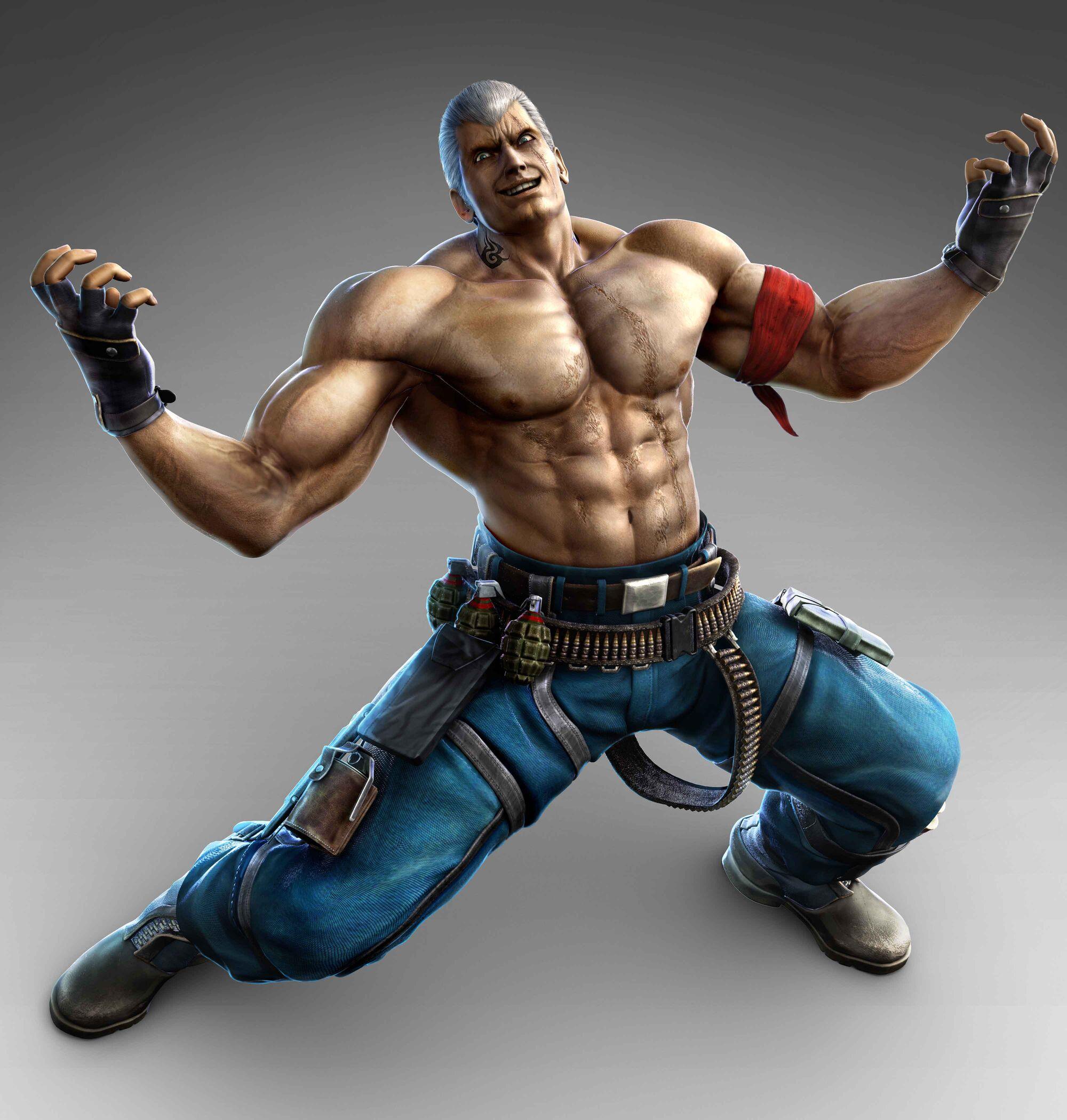 Bryan Fury   Tekken Wiki   FANDOM powered by Wikia