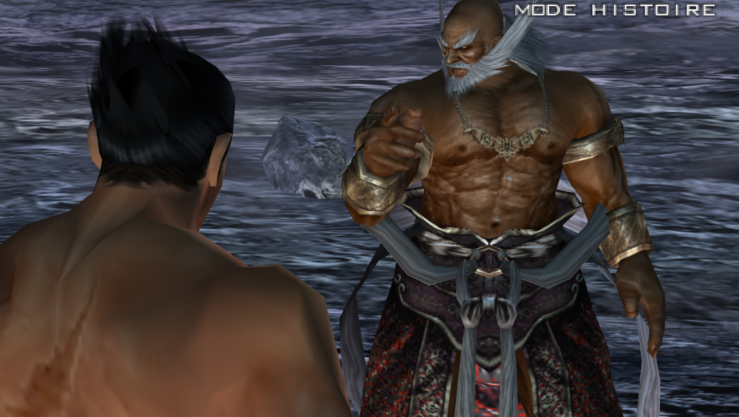 Image - Interlude Kazuya Mishima Jinpachi Mishima tekken 5 ...