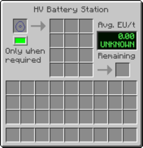 HVstation GUI