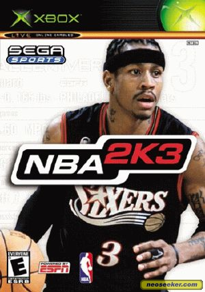 NBA 2K3 frontcover