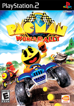 Pac-Man World Rally Coverart