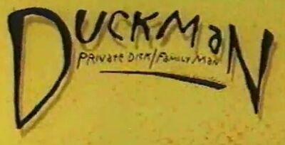 Duckman logo