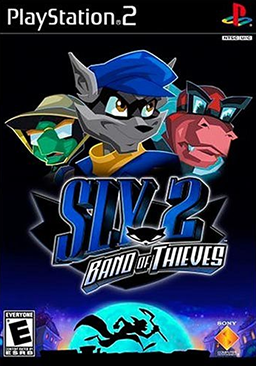 Sly 2 - Band of Thieves Coverart