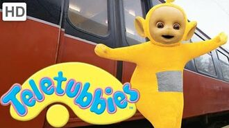 Teletubbies- Going on the Train - HD Video