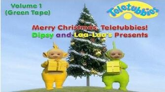Merry Christmas, Teletubbies! - Volume 1 - Dipsy and Laa-Laa's Presents (1999 US VHS)