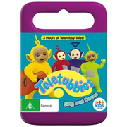 Teletubbies sing and dance