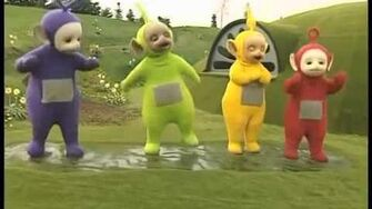 Teletubbies Splashing Dance
