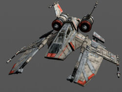 Incom x-91 evolution starfighter