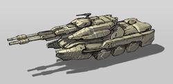 Hover Battle Tank by ikarus tm