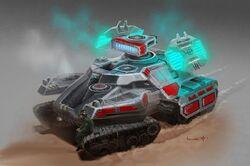 Shield Generator Tank