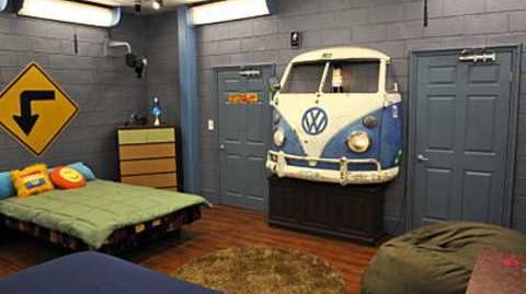 Big Brother MVP Hippie Bedroom-0