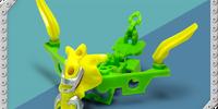 Light Green Tenkai Aerax (Series 1) (toy)