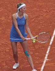 Azarenka Roland Garros 2009 2