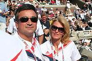 Mr and Mrs Djokovic