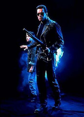 File:T2-promo-cast-of T-800 and john.jpg