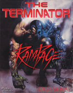 Terminator rampage front cover