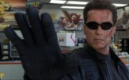 Terminator-talk to the hand man