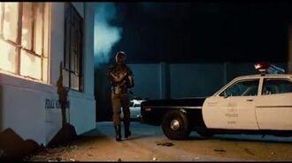 The Terminator Police Shootout Original Audio Restored