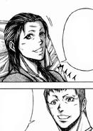 Keiji visiting his mother
