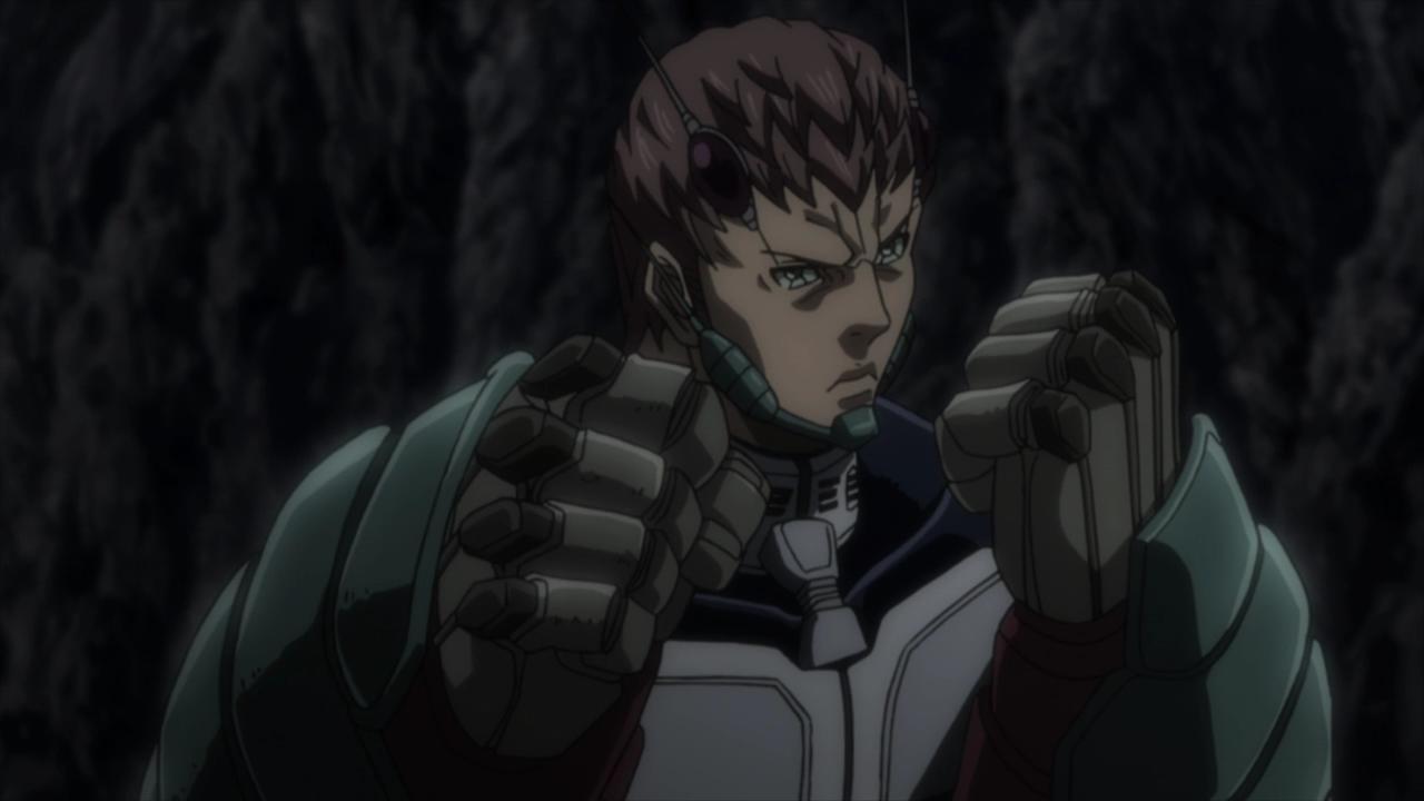 Fichier:Keiji preparing to fight the Terraformar.png