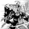 Marcos and Keiji attacking Infernalis Terraformar.png