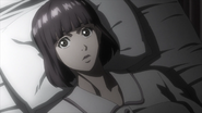 Yuriko in bed