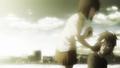 Young Yuriko giving food to Akari.png