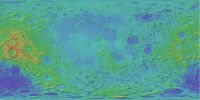 Geographic Pattern - Craters