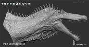 EmpiroSaurs Head Concept DetailJL
